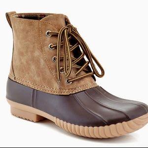 Henry Ferrera Rain Boots, sz 8